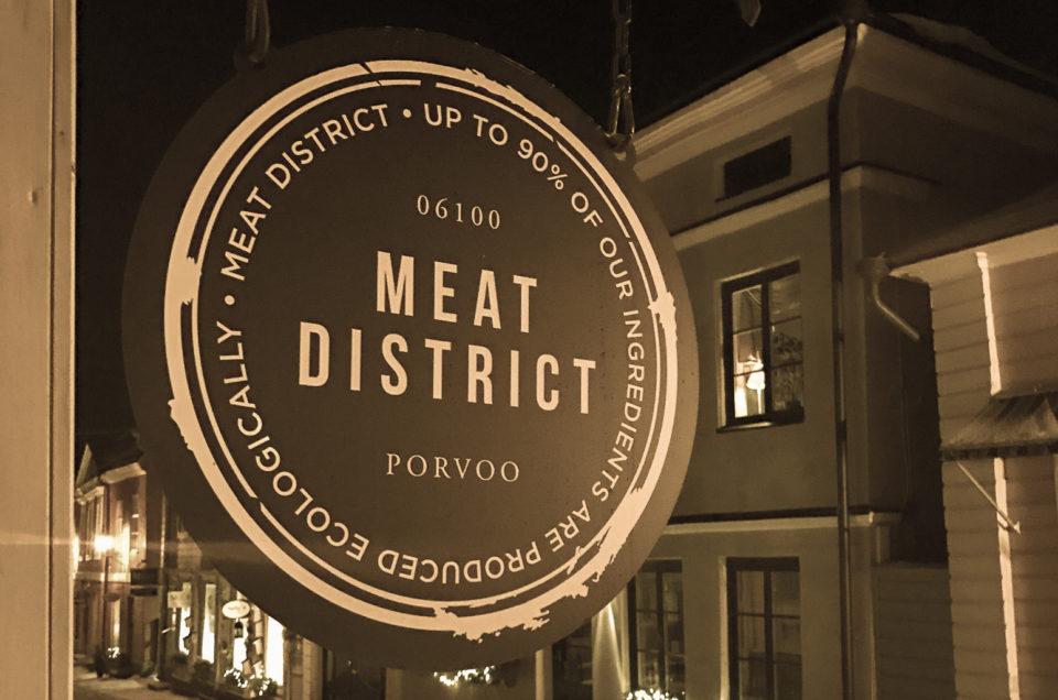 Ravintola Meat District ja lihaisa ilta