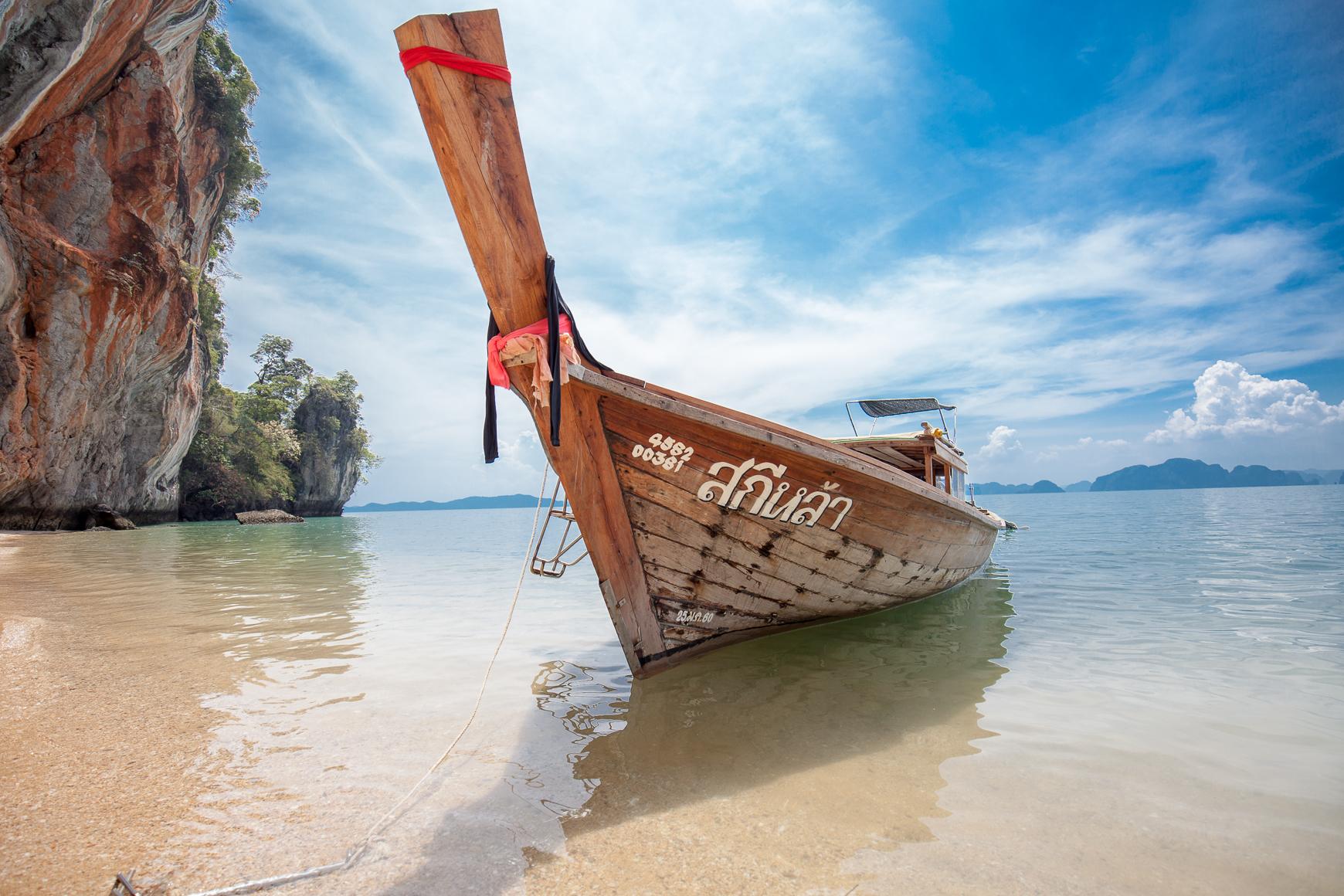 Rentoa meininkiä ja rauhaa Koh Yao Noi -saarella