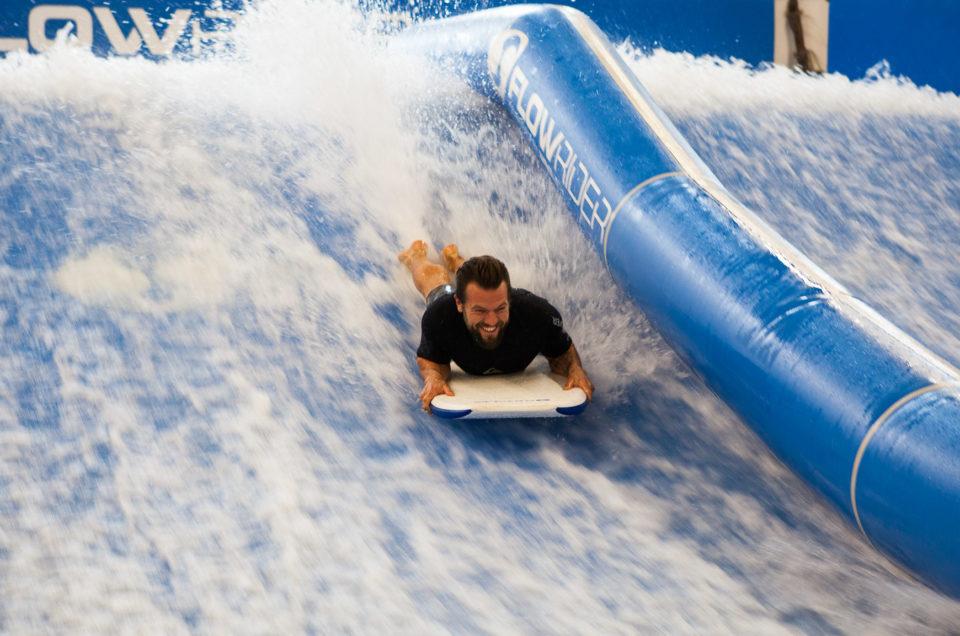 Surffailua arjen keskellä